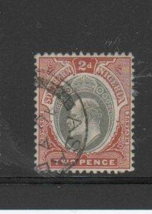 SOUTHERN NIGERIA #12  1903  2p  KING EDWARD VII       F-VF USED