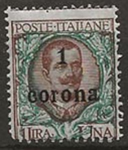 Austria. Italian Occupation N74 m
