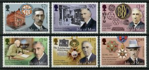 Isle of Man IOM Stamps 2019 MNH Sir Frank Gill KCMG OBE BBC Famous People 6v Set
