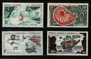 New Caledonia Scott C29-32 Mint hinged (Catalog Value $50.00)