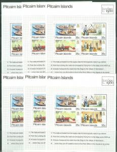 PITCAIRN ISLAND LOT OF  SETS & SOUVENIR SHETS   MINT NEVER HINGED