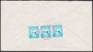 GB LUNDY 1981 cover  - Puffin stamps........................................F884