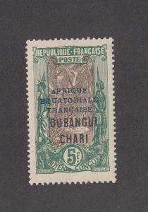 Ubangi Shari Scott #73 MH