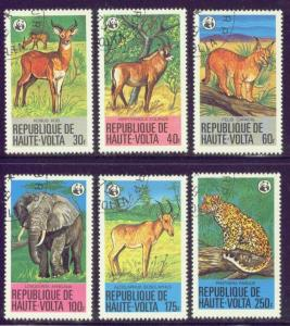 Burkina Faso  506-11 USED 1979 Wildlife Animals CV $3.80