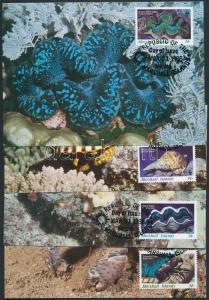 Marshall Islands stamp WWF Marine arthropods and molluscs set CM WS203260