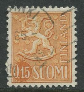 Finland - Scott 401 - Definitives -1963- Used - Single 15p Stamp