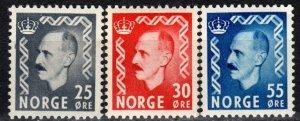 Norway #322-4  MNH CV $22.90 (X496)