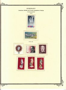 Berlin - 1974/1977 stamp collection on Scott pages