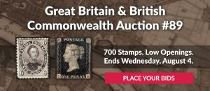 The 89th Great Britain & Commonwealth Auction