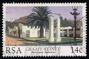South Africa #670 Restoration Projects; used (0.25)