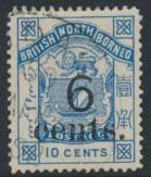 North Borneo  SG 56 Mint  OPT  please see scans & details