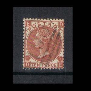 Great Britan 1867 QV SG 112 FU