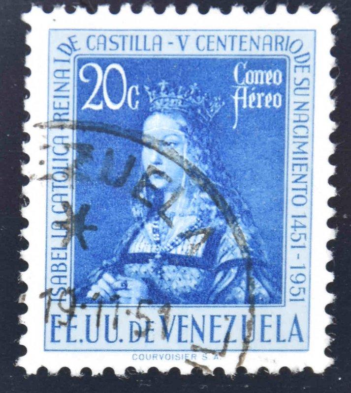 Venezuela  Scott C332 Used Airmail