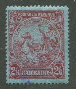 BARBADOS #178 USED VF