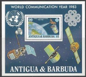 Antigua 702  MNH   World Communication Year