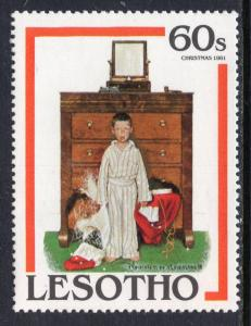 Lesotho 349 Norman Rockwell MNH VF