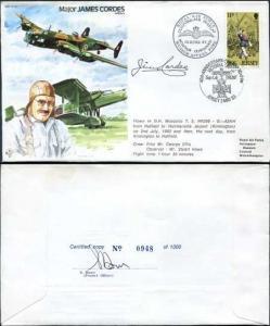 TP30c Major James Cordes AFRAeS Personally Signed by James Cordes (B)