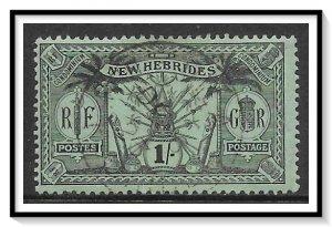 New Hebrides - British #23 Native Idols Used