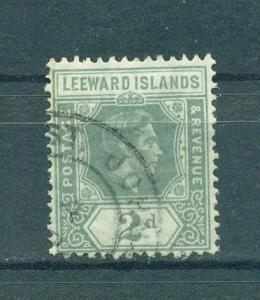 Leeward Islands sc# 107 used cat value $1.25