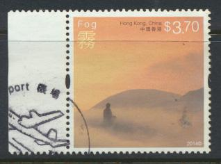 Hong Kong 1860 Used / Fine Used    Weather  Fog  - 2014 issue
