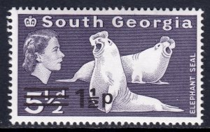 South Georgia - Scott #19 - MH - SCV $1.50