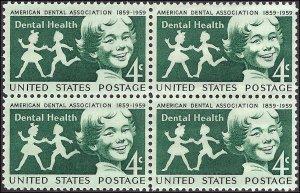 1135 Mint,OG,NH... Block of 4... SCV $1.00