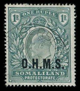 Somaliland Protectorate Scott O15 Gibbons O15 Used Stamp