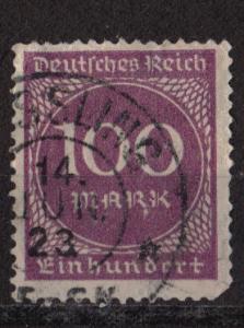 Germany Scott # 229 - Used