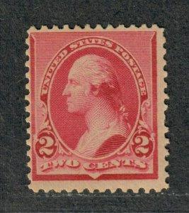 US Sc#220 M/H/F-VF, Cv. $20
