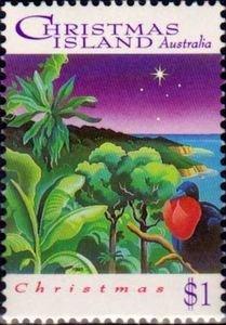 Christmas Island 1993 #356 MNH. Christmas, bird