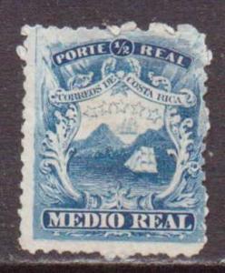 Costa Rica     #1  MH/NG  (1863)