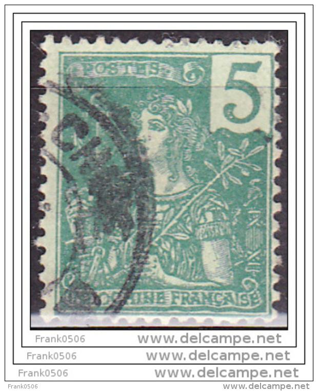 Indo China, 1904, France, 5c, Scott#27,  used
