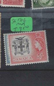 JAMAICA (PP2002B)  QEII  3/-, 5/-   SG 171-2   MOG