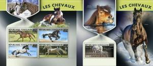 Z08 TG190116ab TOGO 2019 Horses MNH ** Postfrisch