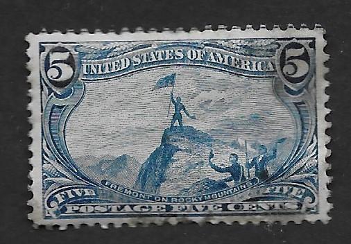 U.S. Vintage Stamps SC#288 M  VF CV$240