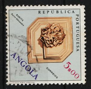 Angola 1970 Fossils and Minerals 5$ (1/12) USED