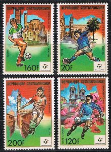 1989 Central African Republic 1398-1401 1990 FIFA World Cup in Italy