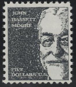 US Stamp Scott #1295 Mint NH John Bassett Moore $5 Stamp