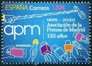 HERRICKSTAMP NEW ISSUES SPAIN Madrid Press Assoc.