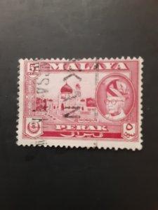*Malaya (Perak) #130             Used