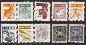 BRAZIL^^^^  OLDER  x10  MNH  collection  @ ha 2089bzaco