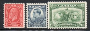 Canada Sc 192-4 1932 Economic Conference stamp set mint