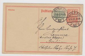 German Postal History Stamps Postcard Ref: R5008