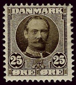 Denmark #75 Mint F-VF. SCV$35.00.. Popular Country!