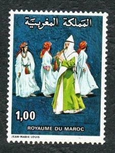1978 - Morocco - National Folklore Festival, Marrakesh- Music - Dress -  MNH**