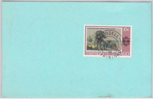 TRINIDAD & TOBAGO postal history CARD with nice postmark: BLUNDELL 1981