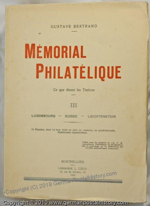 Bertrand Memorial Philatelique Volumes I-IV 42409