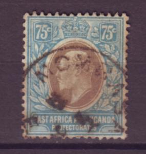J20968 Jlstamps 1907-8 E.africa & uganda proct used #39 king