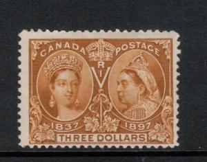 Canada #63 Mint Fine Original Gum Hinged **With Certificate**