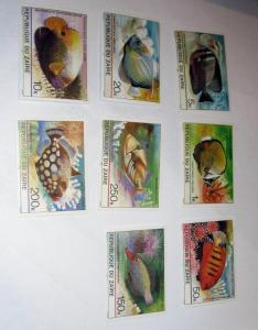 Zaire - 974-81, MNH Set. Tropical Fish. SCV - $7.15